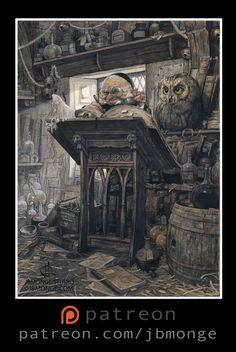ArtStation - Dunlee Darnan - First Publisher Au bord des Continents -France-, Jean-Baptiste Monge