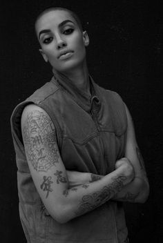 TATTOO OF THE WEEK: THE BEAUTY OF A TOMBOY - AFROPUNK