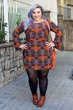 vestido-de-manga-plus-size-para-o-frio-bota-ju-romano-bolsa