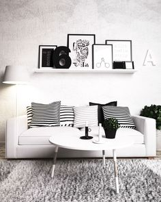 skandinavian decor. coffee table by nobo design