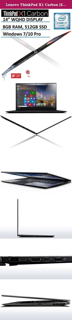 """Cool Lenovo ThinkPad 2017: Lenovo ThinkPad X1 Carbon (2016 NEWEST 4th Generation) 14"""" Ultrabook Laptop...  Traditional Laptops, Laptops, Computers & Tablets, Computers & Accessories, Electronics Check more at http://mytechnoworld.info/2017/?product=lenovo-thinkpad-2017-lenovo-thinkpad-x1-carbon-2016-newest-4th-generation-14-ultrabook-laptop-traditional-laptops-laptops-computers-tablets-computers-accessories-electronics"""