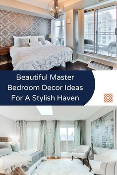 No matter how big or small, your bedroom should always be the most stylish room in your home! Check out our favorite master bedroom decor tips and transform your average sleeping space into a beautiful modern bedroom on your next home renovation project.
