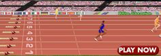 The race is on when these sprinters hear the starting gun. Does your scratch card match the race results? Play and win the 100 m now!
