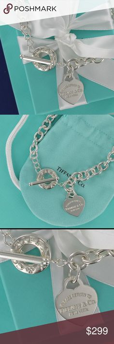 c8a7137bf Please Return Tiffany Heart Tag Toggle Necklace Please, no low ball offers  or trades.
