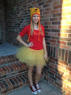 SET Complete Outfit Tank Top Tutu Skirt Winnie Pooh Bear ...