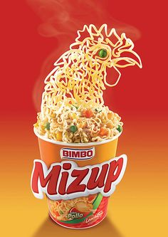 Mizup Soup: Chicken by McCann WorldGroup #foto #photography #advertising
