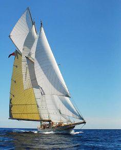 "Schooner yacht ""Sunshine"""