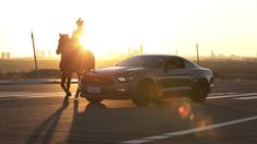 Ford Mustang Celebrates the Year of the Horse in Ordos, Inner Mongolia