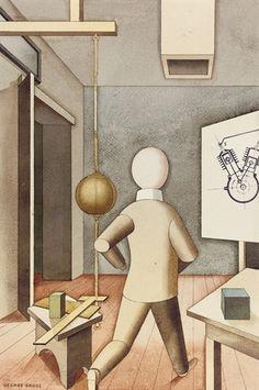 George Grosz, The New Man, 1921