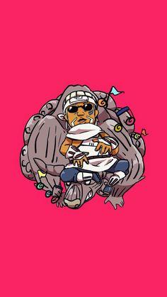Naruto - Chibi Killer Bee & Gyūki the Hachibi (Eight Tails) Naruto Shippuden Sasuke, Anime Naruto, Naruto Shippuden Figuren, Naruto Und Sasuke, Naruto Shippuden Characters, Naruto Cute, Itachi Uchiha, Sasunaru, Kakashi
