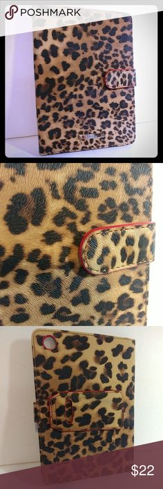 "Stella & Dot Chelsea iPad MINI Case Stand Leopard Stella & Dot Chelsea iPad MINI Case & Stand Leopard Print   This is a 100% Genuine Stella & Dot Product! Never-opened leopard print iPad case with kick stand for propping open iPad mini. Great for carrying/storing your iPad mini! Front snap closure. Size: 8"" x 5.3""  New without tags. This is the exact one you will get. Stella & Dot Other"