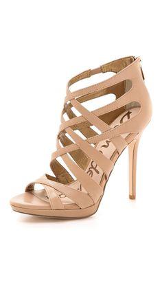 9e4e5e862fd693 Sam Edelman Erin crisscross sandals in classic nude