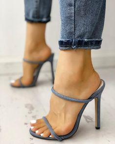 high heels – High Heels Daily Heels, stilettos and women's Shoes Lace Up Heels, Pumps Heels, Stiletto Heels, Heeled Sandals, Sandal Heels, Trend Fashion, Fashion Shoes, Style Fashion, Light Blue Shoes
