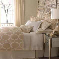 Legacy Home Riad Dune Bedding - Trellis By Legacy Home Bedding, Bed Sets, Comforters, Duvets, Bedspreads, Quilts