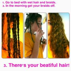 Beatiful curly hair, DIY