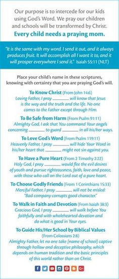 Kids - Parenting - Ministry Outreach Prayer Cards English - Pkg of 25 Prayer For Students, Praying For Your Children, Raising Godly Children, Prayers For Children, Prayer For Work, Prayer For Guidance, Prayer For Peace, God Prayer, Guidance Quotes