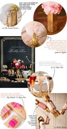 HEY LOOK: LAST MINUTE HOLIDAY ENTERTAINING GUIDES: #3 SPARKLY & BRIGHT