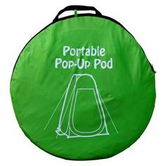 GigaTent Portable Pop Up Changing Room Green-ST002 - The Home Depot Camping Toilet, Diy Camping, Tent Camping, Camping Hacks, Glamping, Camping Shower Diy, Camping Stuff, Beach Camping, Camping Items