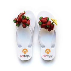 Strawberry Wht Sandals