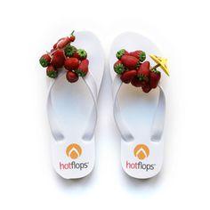 Strawberry Wht Sandals