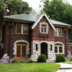 Amazing home in Pasadena Hills, MO. Built in 1933, this home is a mix of Tudor Revival and Italian Renaissance Revival styles.