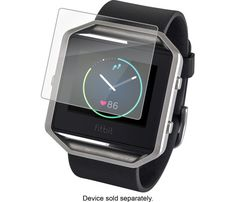 Zagg - InvisibleShield HD Clear Screen Protector for Fitbit Blaze - Angle Zoom
