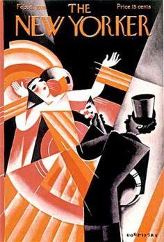The New Yorker, 1926, Art Deco