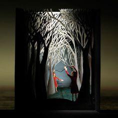 tunnel books by Andrea Dezso