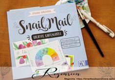"""""""Snail Mail – Kreative Kartengrüße Einladungen, Grußkarten, Briefumschläge – leicht gemacht"""" von Deborah Krähenbühl · time4booksandmore.com Magnolia, Invitations, Creative, Magnolias"""