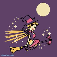 Healing Witch By Jaime Ugarte, today at The Yetee!