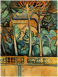 Georges Braque started out as a member of the Fauves before developing Cubism along with Picasso. Pablo Picasso, Cubist Paintings, Cubist Art, Alberto Giacometti, Henri Matisse, Georges Braque Cubism, Andre Derain, Oil Painting Reproductions, Art Moderne