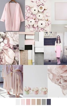 Pale rose and other colors will play a major role in 2016 style