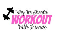 Why We Should Work Out with Friends Don't get me wrong, I love working out by myself. Long runs with just me and my music are great therapy. But, working out with friends has its perks too! Here are the benefits of working out with friends, besides much-needed girl time. Accountability: When you are forced to schedule your workout ...  Read More at https://www.chelseacrockett.com/wp/teentalk/why-we-should-work-out-with-friends/.  Tags: #Exercise, #Friends, #Friendship,
