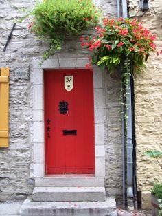 red door, Vieux Québec