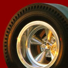 Cover art Rims And Tires, Rims For Cars, Wheels And Tires, Hot Wheels, Steampunk Motorcycle, Old Hot Rods, Goodyear Tires, Racing Wheel, Garage Art
