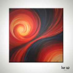 Purchase Passion's Dance Abstract Painting in the Liz W Art Gallery! Original Contemporary Fine Art Paintings to Inspire your Life & Style Your Home!