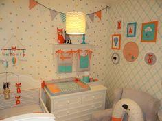 Decoração para quartos de bebê