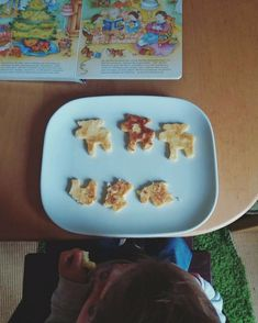 Grießschnitten  Egal ob salzig oder süß – Grießschnitten kommen bei Kindern gut an. Ich bevorzuge die salzige Variante. Egal ob als Snack oder Hauptgericht.