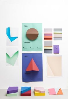RAW COLOR - thisisbasic_posters_triangle