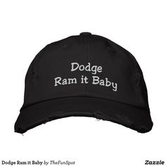 Dodge Ram it Baby Embroidered Baseball Hat