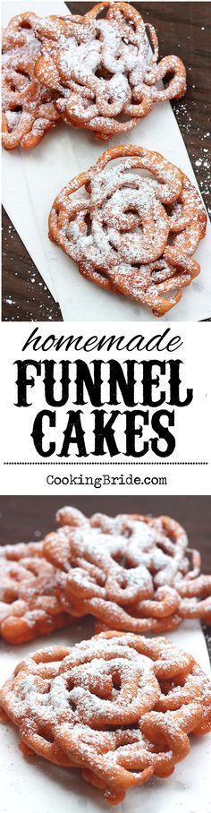 You don't have to wait until the state fair rolls into your town to enjoy homemade funnel cakes piled high with powdered sugar.