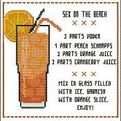 Cocktail: Sex on the Beach - via @Craftsy