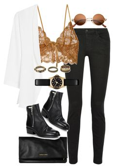 """""""Untitled #7544"""" by nikka-phillips ❤ liked on Polyvore featuring beauty, Proenza Schouler, For Love & Lemons, MANGO, Yves Saint Laurent, 3.1 Phillip Lim, Marc by Marc Jacobs and Forever 21"""