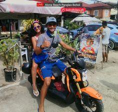 motorcycle rental bohol