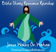 The story of Jesus walking on the water is one of my favorite stories in the Gospels because to me, it illustrates Jesus' gentleness and incredible patience with His children. Three times in the NI. Toddler Sunday School, Sunday School Activities, Sunday School Lessons, Jesus Story For Kids, Stories For Kids, Bible Study For Kids, Bible Lessons For Kids, Kids Bible, Jesus Stories