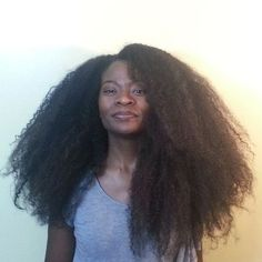 big hair, natural hair, and long natural hair image