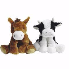 Horse rumples plush toy