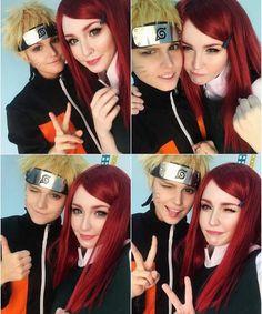 Kushina and Naruto Beautiful Cosplay ❤️❤️❤️