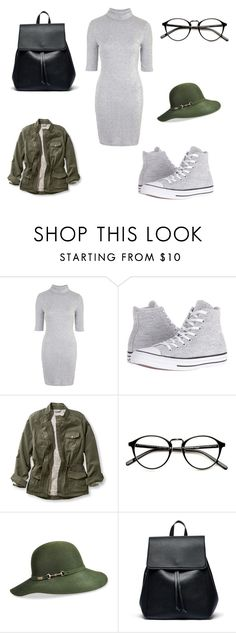 """""""Untitled #122"""" by nasteexomohamud on Polyvore featuring Topshop, Converse, L.L.Bean, Betmar and Sole Society"""