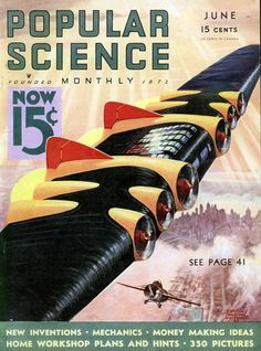 Popular Science magazine| Flying Wing